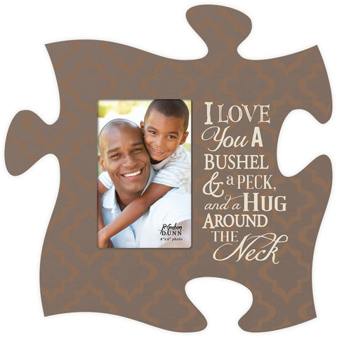 I Love You Puzzle Photo Frame - PuzzleMatters