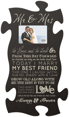 Today I Marry Puzzle Photo Frame - PuzzleMatters