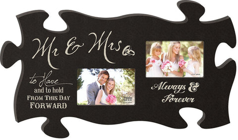 Wedding Puzzle Photo Frame - PuzzleMatters
