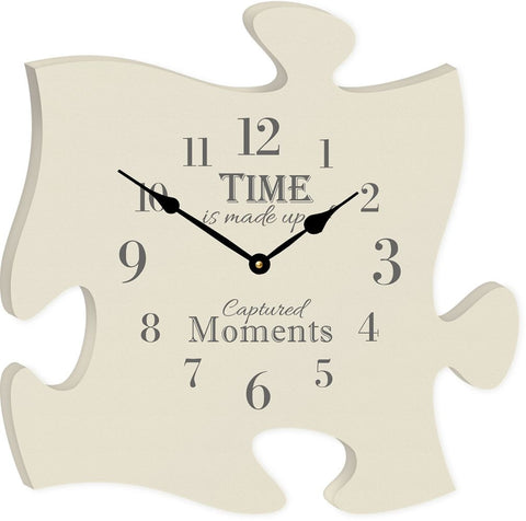 The Time Clock Puzzle Piece - PuzzleMatters