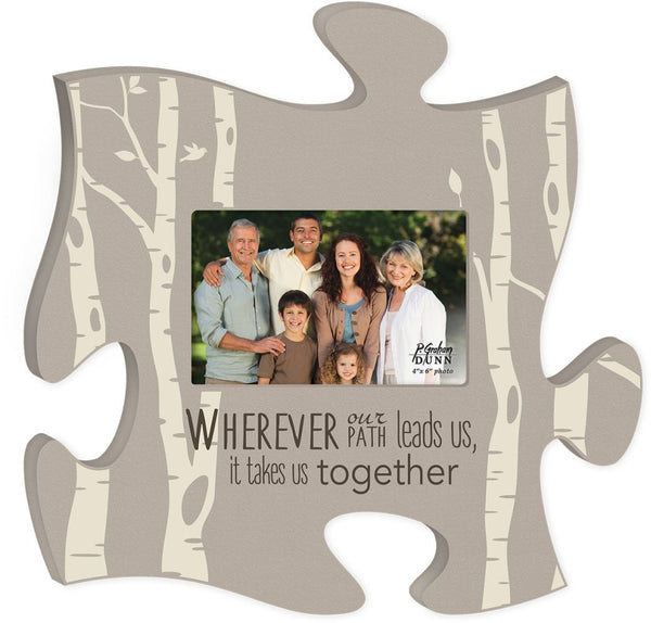 Wherever Puzzle Photo Frame - PuzzleMatters