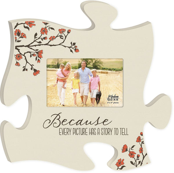 Because Puzzle Photo Frame - PuzzleMatters
