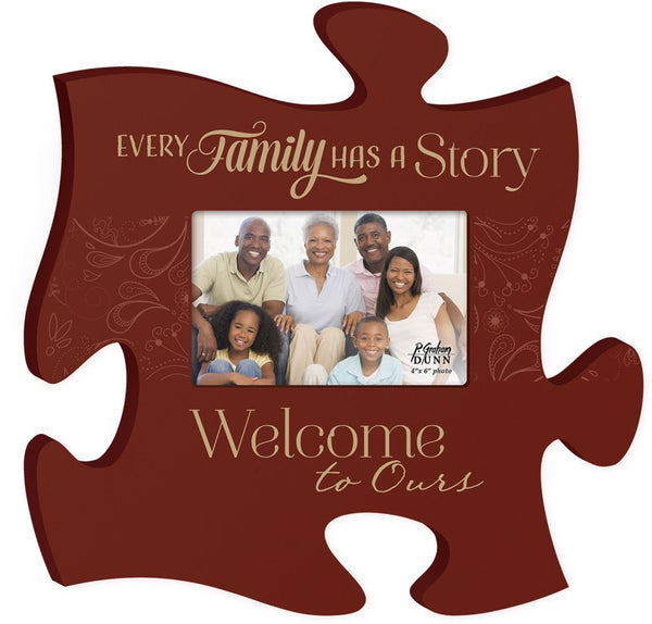 Every Family Puzzle Photo Frame - PuzzleMatters