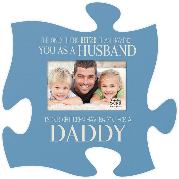 The Only Thing Puzzle Photo Frame - PuzzleMatters