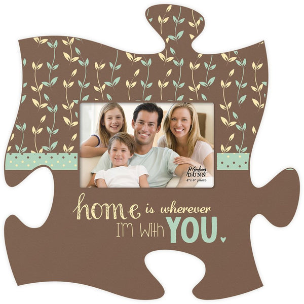 Home Is Puzzle Photo Frame - PuzzleMatters