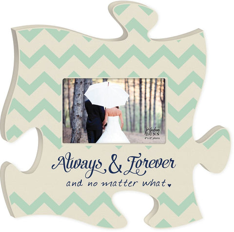 always forever puzzle photo frame puzzlematters