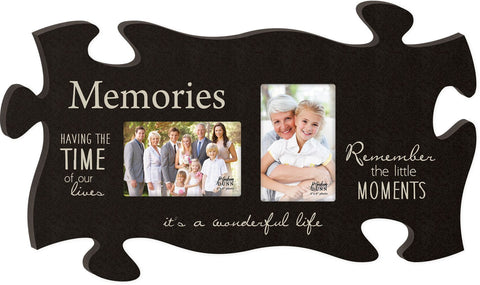Memories Puzzle Photo Frame - PuzzleMatters