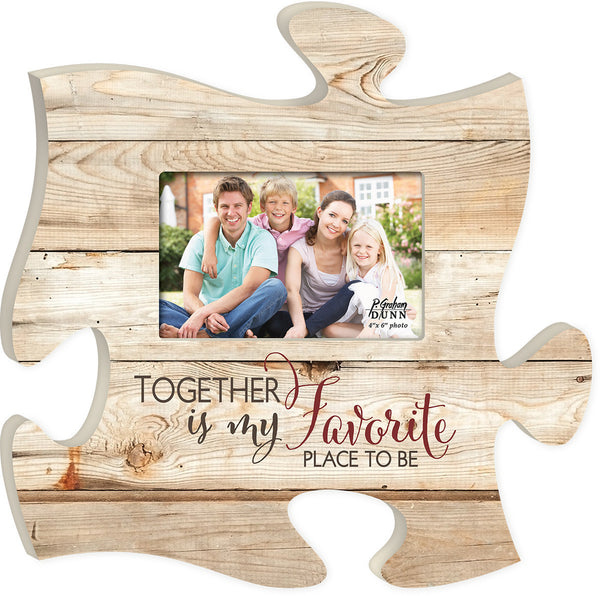 Together Is Puzzle Photo Frame - PuzzleMatters