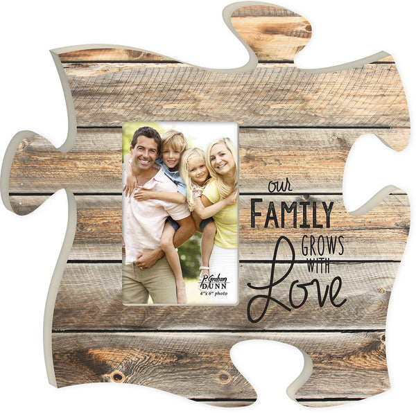 Our Family Puzzle Photo Frame - PuzzleMatters