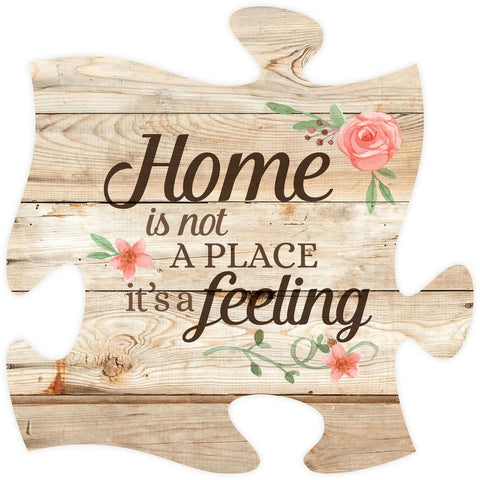 Home Is Puzzle Piece - PuzzleMatters