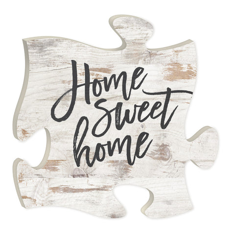 Home Sweet Home Puzzle Piece