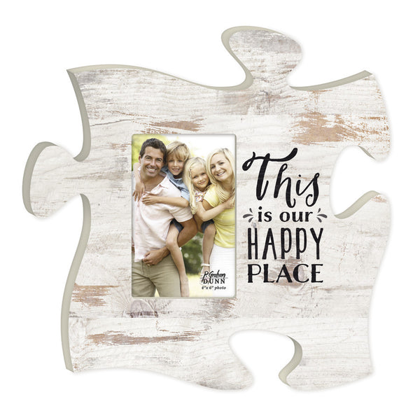 This is our Happy Place Photo Frame