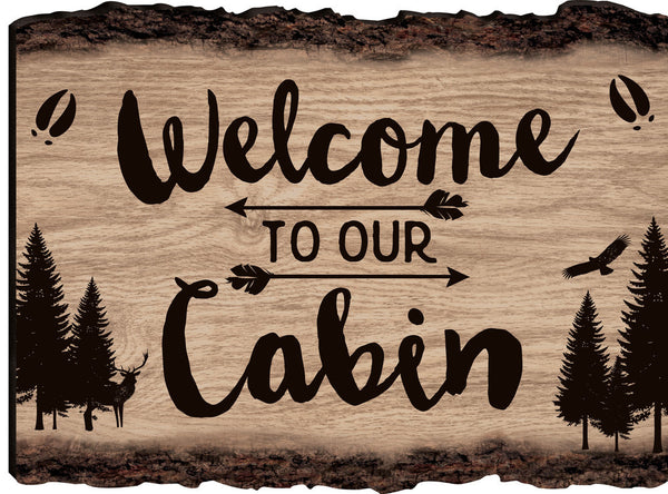 Welcome Bark Sign - PuzzleMatters