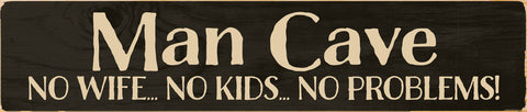 Man Cave Stick Sign - PuzzleMatters