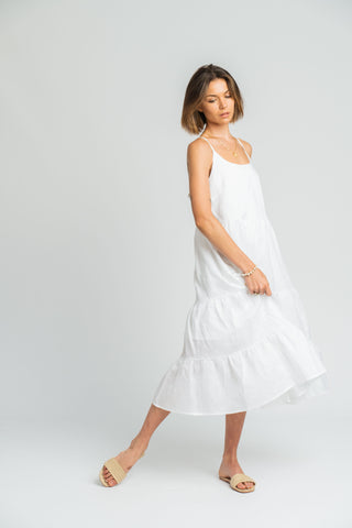 Phoenix Dress In White