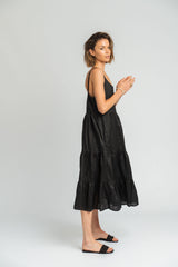 Phoenix Dress In Black