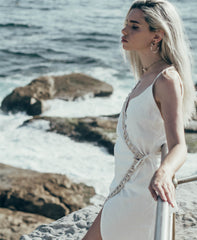 White Siren Wrap Dress