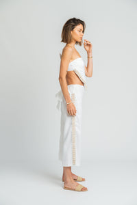 Adriatic Hanky Top in White