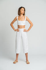 Pacifico Pant in White