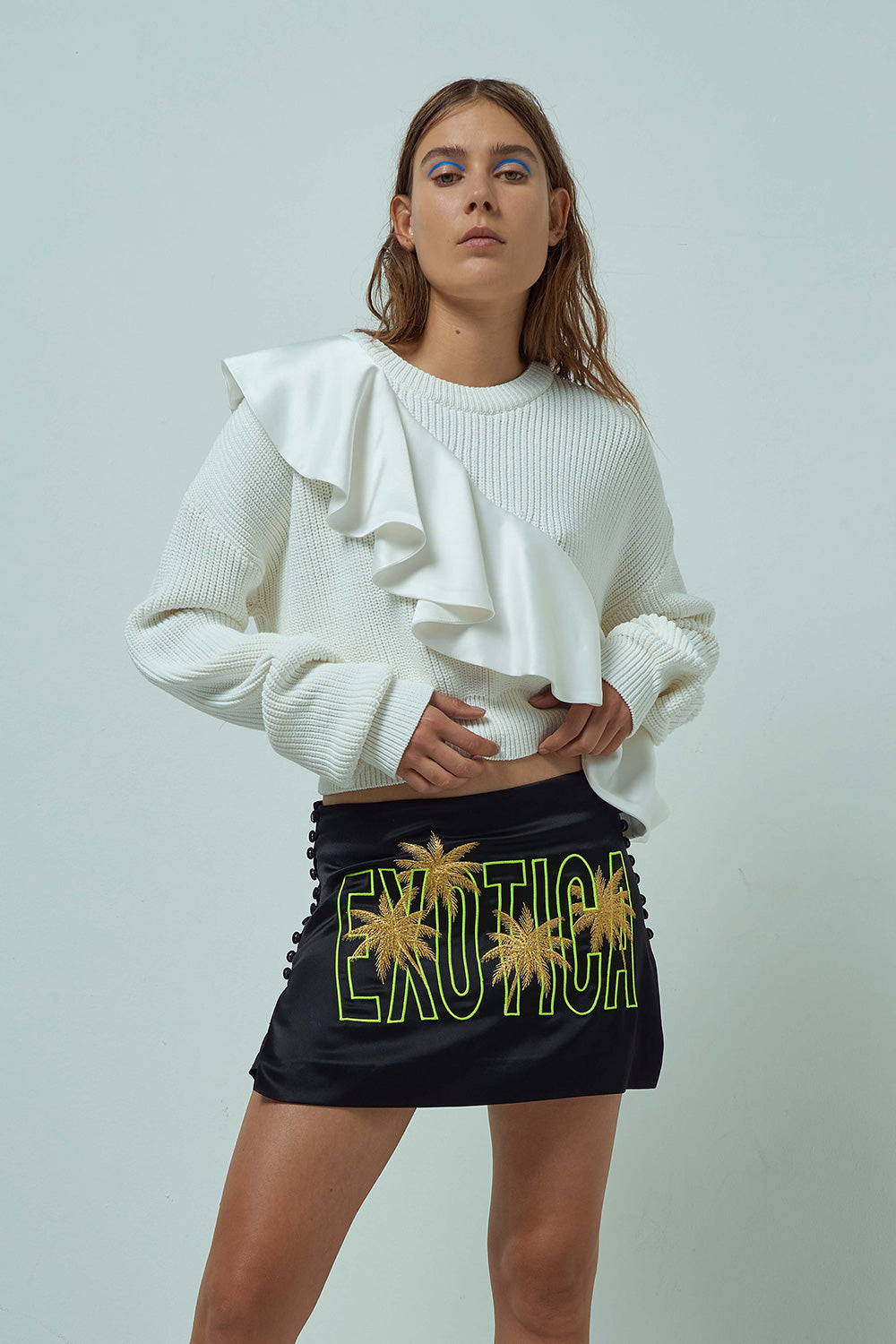 EJI EMBROIDERED