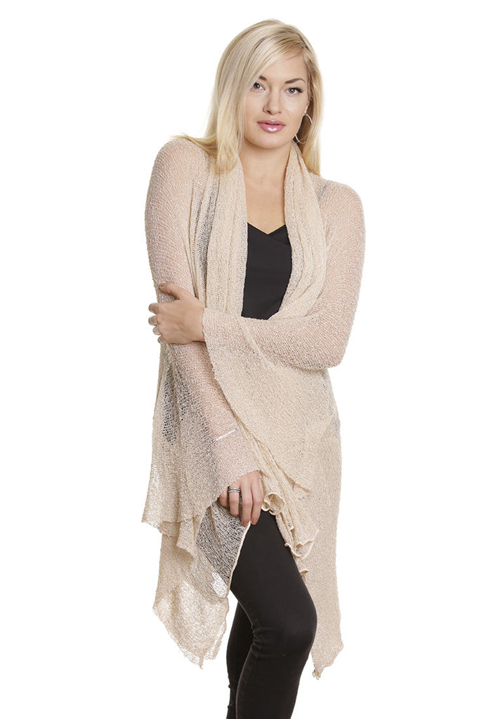 Maxi Jacket/Cardigan (Cream)