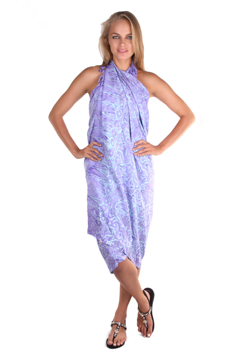 Pareo Sarong Purple - FrejaDesigns