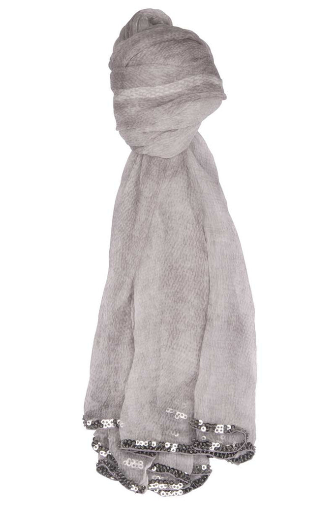 Silk Scarf Snake (Light Grey)