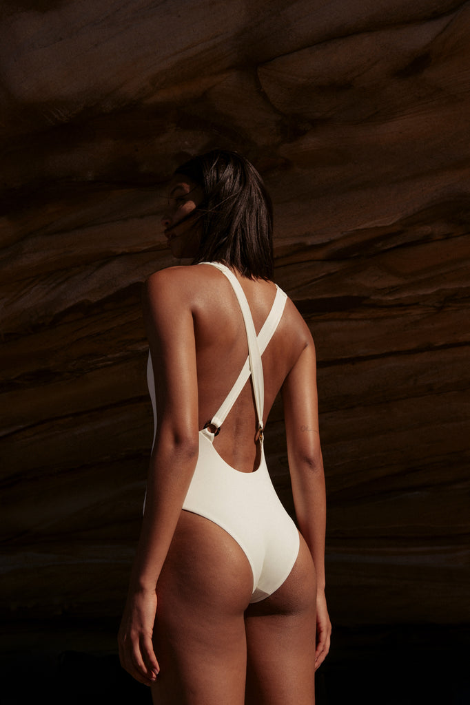 Ivy Bodysuit in Ivory