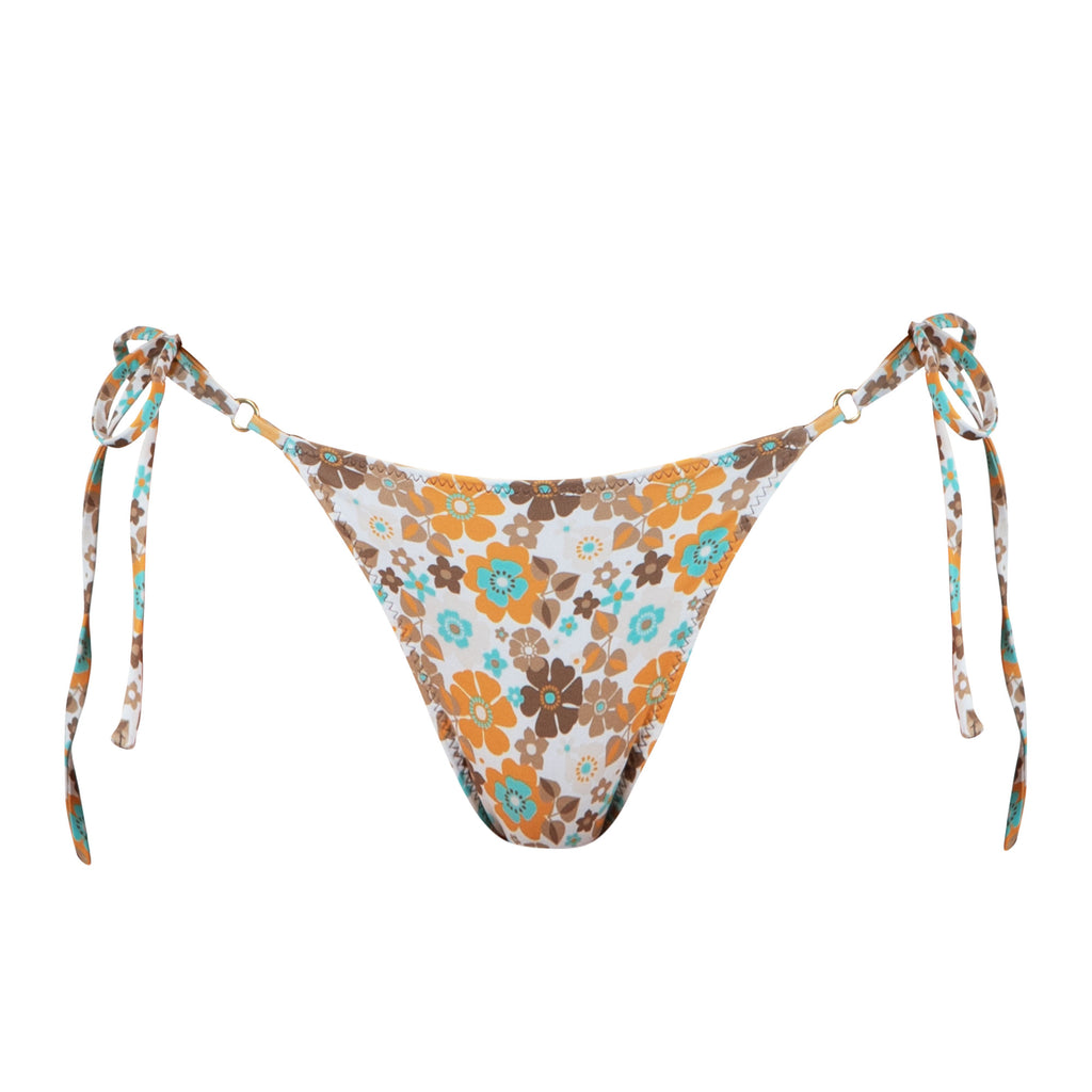 Talise Bottom in Forget-Me-Not Print