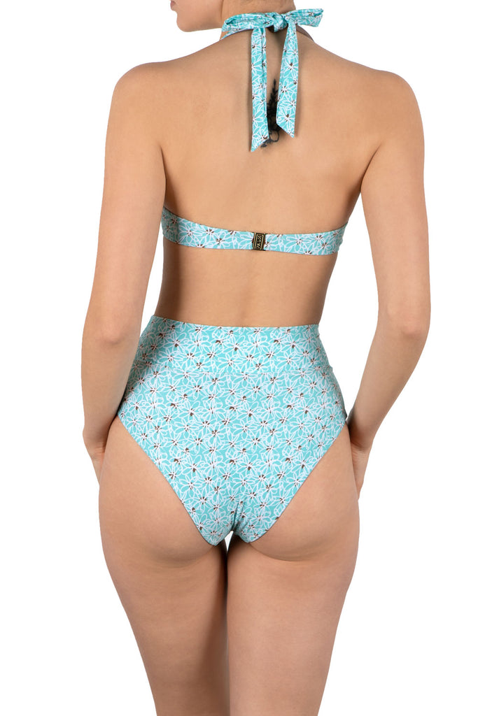 Baja Bottom in Bleuet Print