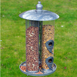 Deluxe 3 in 1 Suet Fat Ball, Seed and Nut Feeder