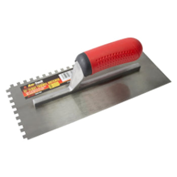 Float Trowel Soft Grip (Notched) - 11""
