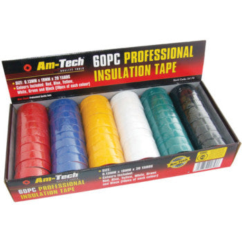 Insulation Tape Display (60pc x 20yds)