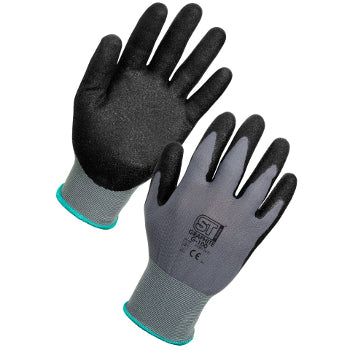 Graphite Nitrile Dipped Gloves