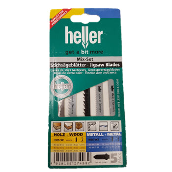 Heller Jigsaw Blades - Assorted