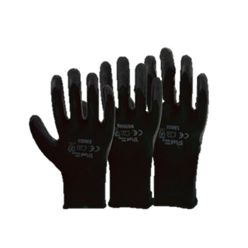 Gloves Black Grip Master
