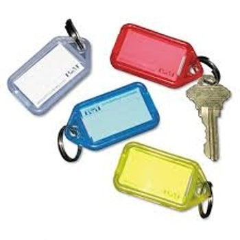 Key Tags - Large