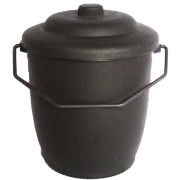 Plastic Coal Bucket with Lid