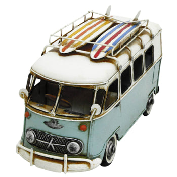Ornament Metal Camper Van