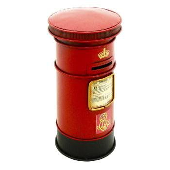 Ornament Metal Post Box