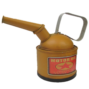 Ornament Metal Oil Can Money Box