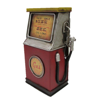 Ornament Metal Petrol Pump Money Box