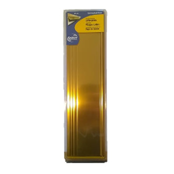 Letterplate Tidy Gold 12""