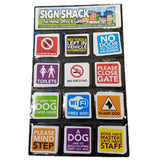 Stickers Wallet - 180 Piece