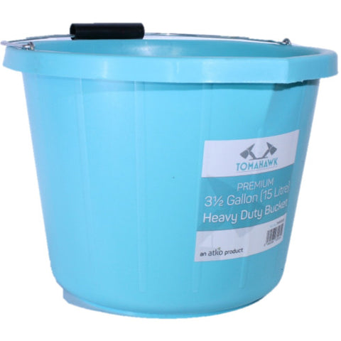 Tomahawk Premium 15L HD Bucket Blue