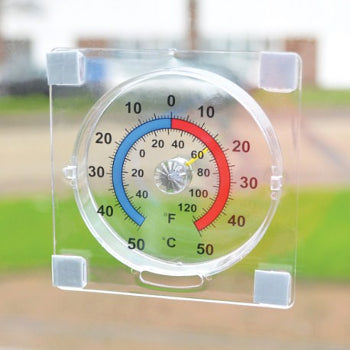 Thermometer Window Dial