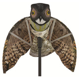 Tomahawk Predator Decoy Owl with Moving Wings