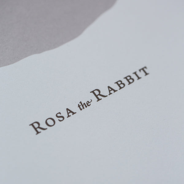 Rosa the Rabbit - Screen Print