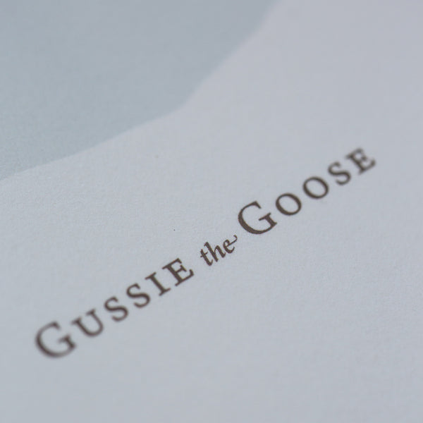 Gussie the Goose