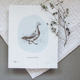 Gussie the Goose - Screen Print